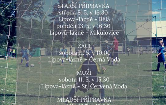 Pozvánka na domácí zápasy
