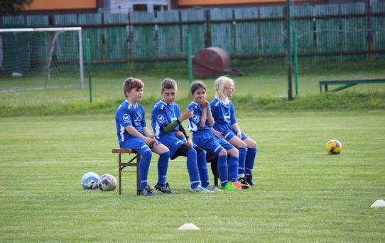 Fotogalerie: Domácí zápas starší přípravky proti Bělé (8. 5.)